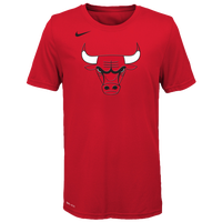 Nike NBA Logo T-Shirt - Boys' Grade School - Chicago Bulls - Red