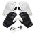 Black/White | Includes 2 Sets of Receiver Gloves and Mouthguard