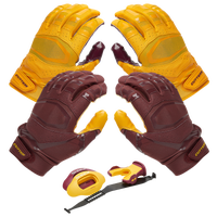 Cutters Rev Pro 3.0 Solid Flip Combo Pack - Maroon / Gold