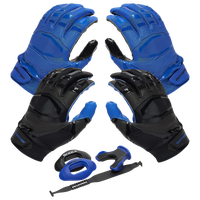 Cutters Rev Pro 3.0 Solid Flip Combo Pack - Blue / Black