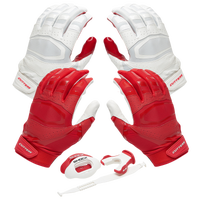 Cutters Rev Pro 3.0 Solid Flip Combo Pack - Red / White
