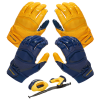 Cutters Rev Pro 3.0 Solid Flip Combo Pack - Navy / Gold