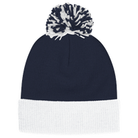adidas Team Cuffed Knit Beanie - Navy