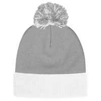 adidas Team Cuffed Knit Beanie - Grey