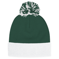 adidas Team Cuffed Knit Beanie - Dark Green