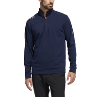 adidas 3-Stripe Golf 1/4 Zip - Men's - Navy