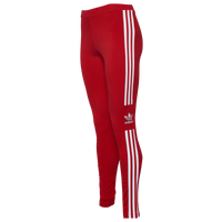 adidas Originals Adicolor New Trefoil Leggings - Women's - Red