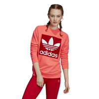 adidas Originals Adicolor Trefoil Crew - Women's - Red