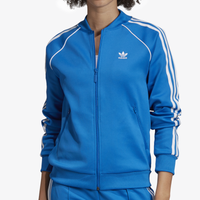 adidas Originals Adicolor Superstar Track Top - Women's - Blue