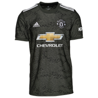 adidas Soccer Replica Jersey - Men's - Manchester United - Black