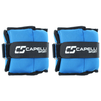 Capelli 4LB Soft Ankle Wrist Weights - Adult - Blue