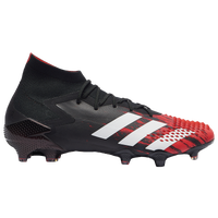 adidas Predator 20.1 FG - Men's - Black / Red