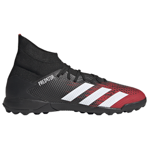 adidas Predator 20.3 TF - Men's - Core Black/Footwear White/Active Red