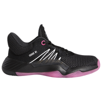 adidas Don 1 - Boys' Preschool -  Donovan Mitchell - Black / Black