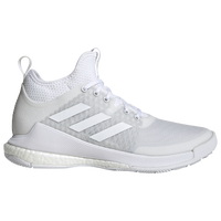 adidas Crazyflight Mid - Women's - All White / White