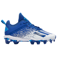 adidas adiZero Spark MD - Boys' Grade School - Blue / White