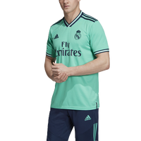 adidas Soccer Replica Jersey - Men's - Real Madrid - Aqua