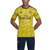 adidas Soccer Replica Jersey - Men's - Arsenal - Yellow