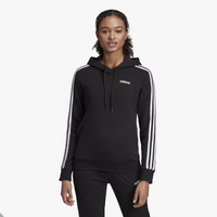 adidas Athletics 3-Stripes Cotton Hoodie - Women's - Black