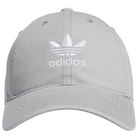 adidas Originals Relaxed Strapback Hat - Women's - Grey