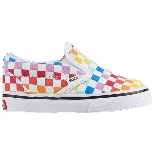 76e723a96791c2 Vans Classic Slip On - Girls  Toddler - Vans - Casual - Rainbow ...