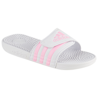 adidas Adissage Slide - Girls' Grade School - White