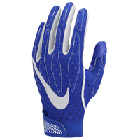 Nike Superbad 4.0 Football Gloves - Boys' Grade School - Blue / White