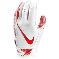 Nike Vapor Jet 5.0 Football Gloves - Men's - White / Red