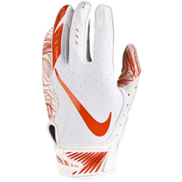 Nike Vapor Jet 5.0 Football Gloves - Men's - White / Orange