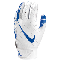 Nike Vapor Jet 5.0 Receiver Gloves - Boys' Grade School - White / Blue