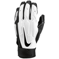 Nike D-Tack 6 Lineman Gloves - Men's - White / Black