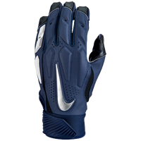 Nike D-Tack 6 Lineman Gloves - Men's - Navy / White