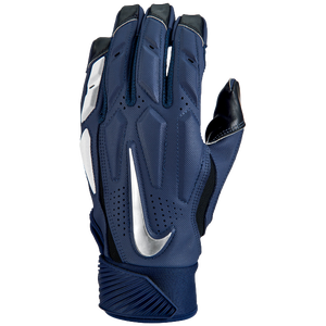 Nike D-Tack 6 Lineman Gloves - Men's - College Navy/White/Chrome