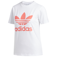 adidas Originals Adicolor Trefoil T-Shirt - Women's - White