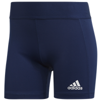 "adidas Team Alphaskin 4"" Shorts - Women's - Navy"