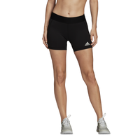"adidas Team Alphaskin 4"" Shorts - Women's - Black"