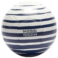 adidas Messi Club Soccer Ball - White