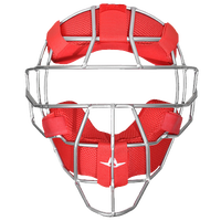 All Star System 7 MVP Traditional Facemask - Men's - Red / Red