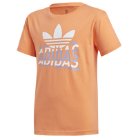 adidas Originals Graphic T-shirt - Boys' Grade School - Orange