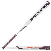 Rawlings Velo Fastpitch Bat - Women's - White / Grey
