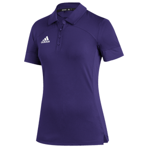 adidas Team Under The Lights Coaches Polo - Women's - Collegiate Purple/White