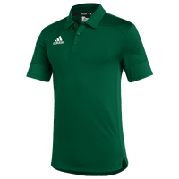 adidas Team Under The Lights Coaches Polo - Men's - Dark Green