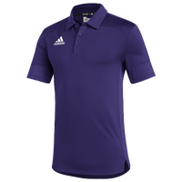 adidas Team Under The Lights Coaches Polo - Men's - Purple