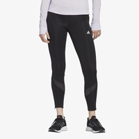 adidas Own The Run Tights - Women's - All Black / Black