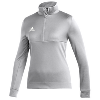 adidas Team Issue 1/4 Zip - Women's - Grey