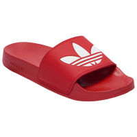 adidas Originals Adilette Slide - Men's - Red