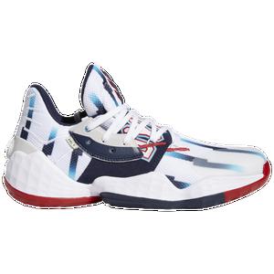Destreza Globo Triturado  adidas Harden Vol. 4 - Men's - Basketball - Shoes - Harden, James -  White/Collegiate Navy/Scarlet