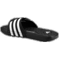 adidas Adissage SuperCloud Slide - Men's - Black / White