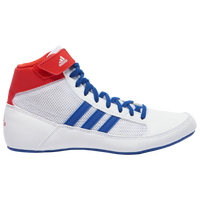 adidas HVC 2 Laced - Boys' Grade School - White / Blue