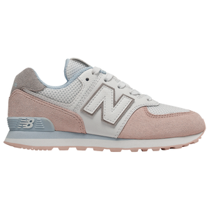 New Balance 574 Classic - Girls' Grade School - Oyster Pink/Air
